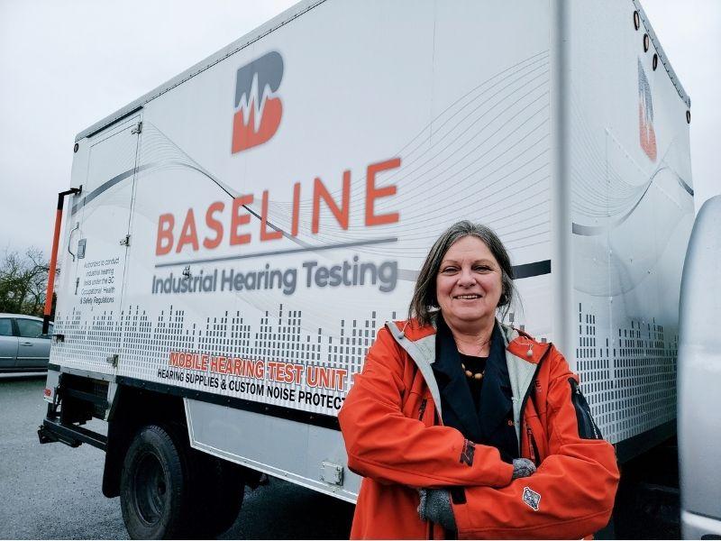 Lori Donaldson, Baseline Industrial Hearing Testing