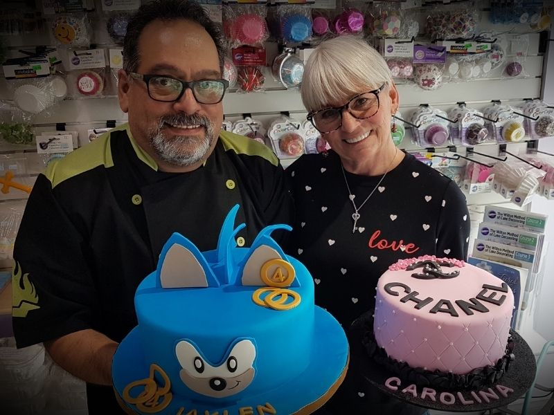 Tim and Heather Garofano, Say It With Cake